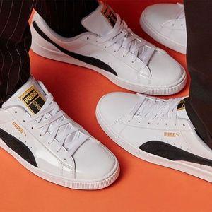 PUMA x BTS Basket Patent Sneakers PHOTOMIX